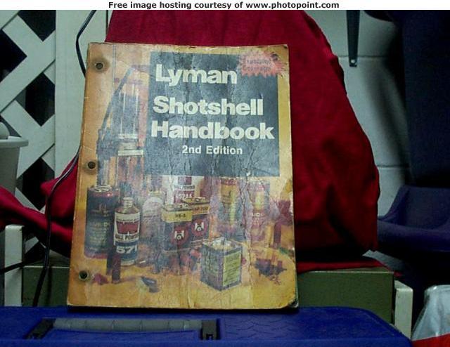 2nd. ed. lyman shotshell handbook