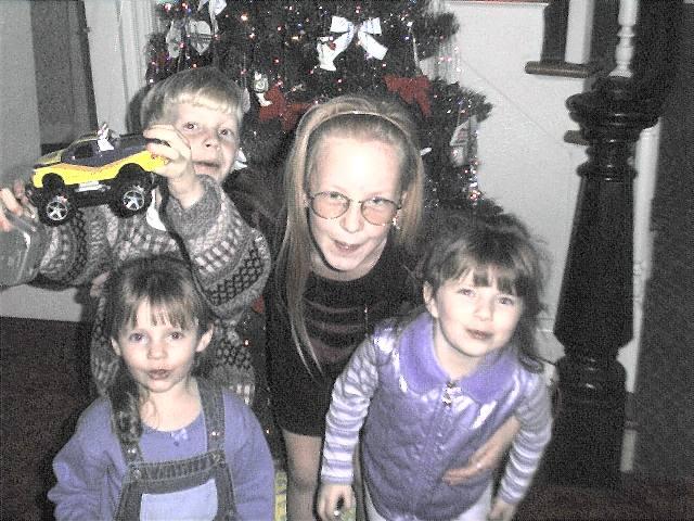 Ben, Sami, Mary & Sarah